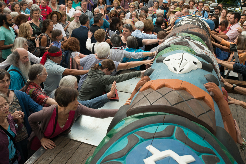 Lummi Totem Pole Journey Makes Stop In Sandpoint Idaho
